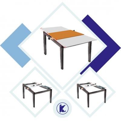03-Ortadan Butonlu Masa Rayı